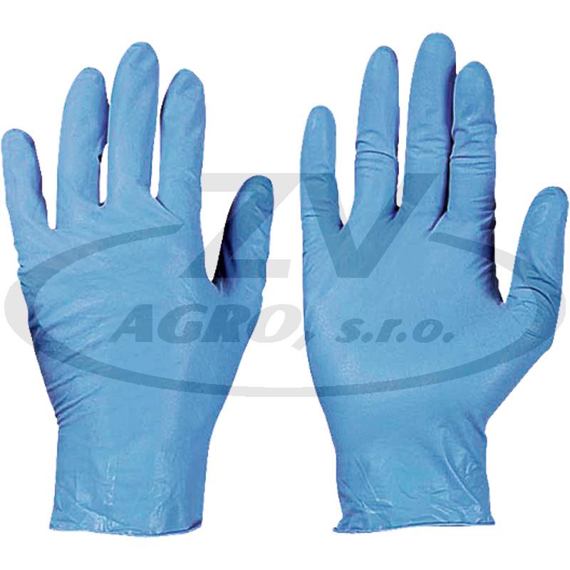 Jednorázové nitrilové rukavice - 10