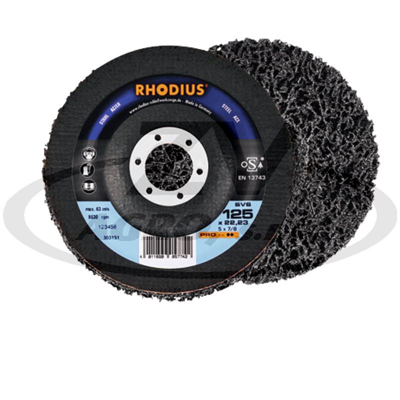 RHODIUS Hrubý čistící materiál