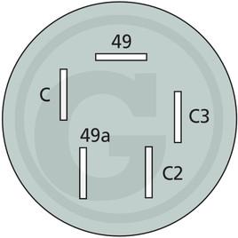 Bosch Přerušovač směrových světel, mechanický
