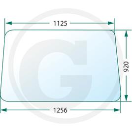 Přední sklo