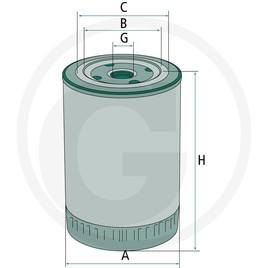 MANN Filtr motorového oleje