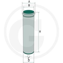 MANN Přídavný vzduchový filtr