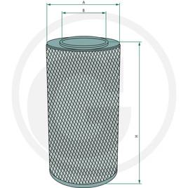 Fleetguard Vzduchový filtr
