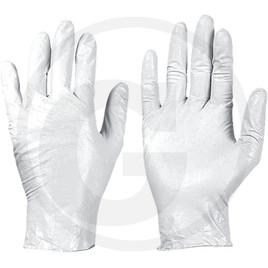 Jednorázové gumové rukavice 100 ks -  dle normy EN455