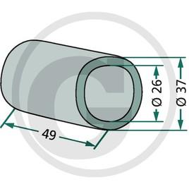 PVC-pouzdro ložiska
