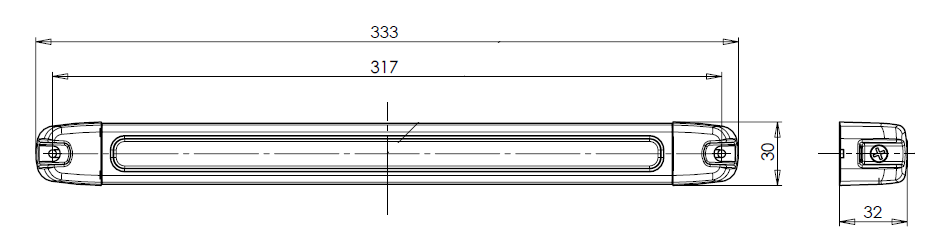 LED SVÍTILNA INTERIÉRU 24 V