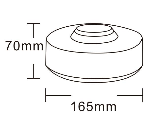 LED VÝSTRAŽNÝ MAJÁK – UFO 2000 magnetický
