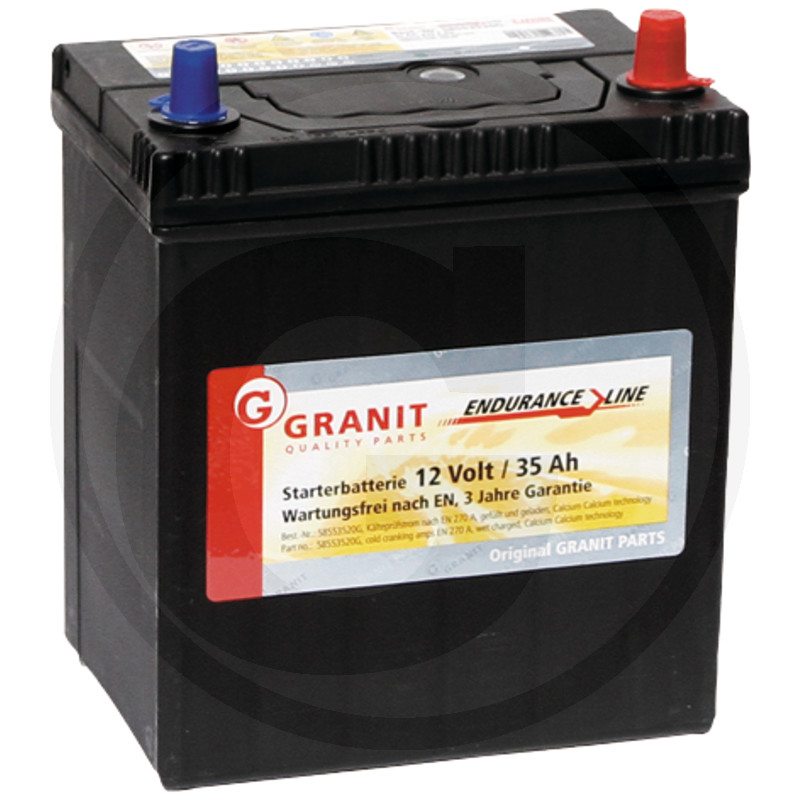 Baterie 12 V 35Ah plná