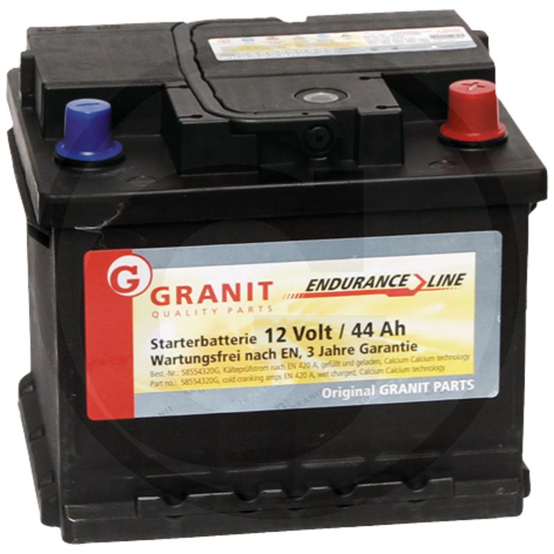 Baterie 12V 44Ah plná
