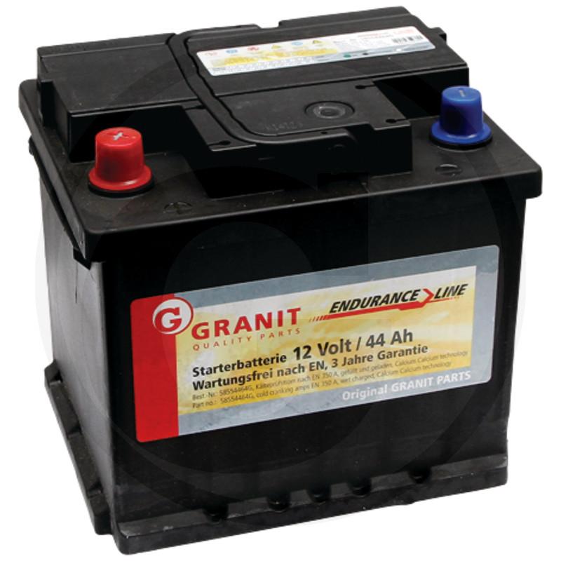Baterie 12V 44Ah plná - bezúdržbová