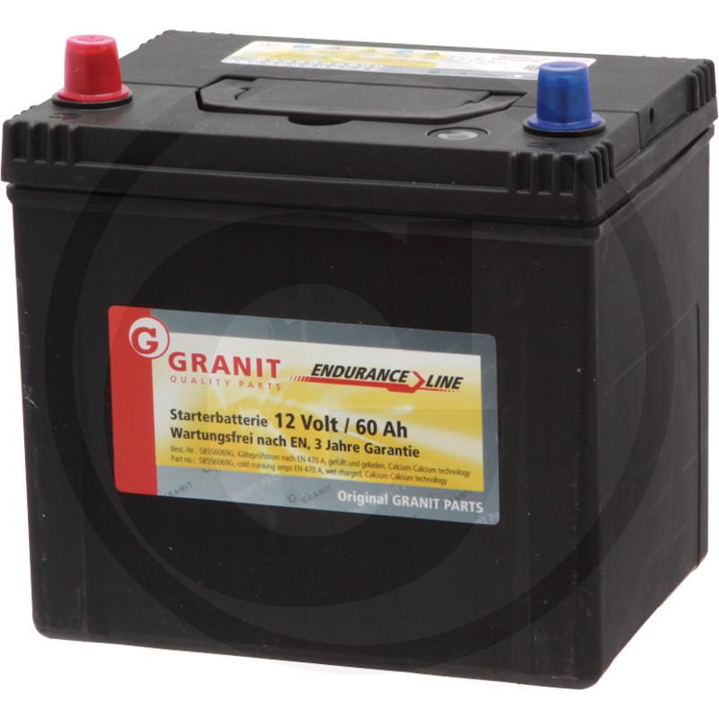 Baterie 12V 60Ah plná