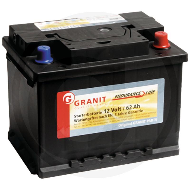 Baterie 12V 62Ah plná