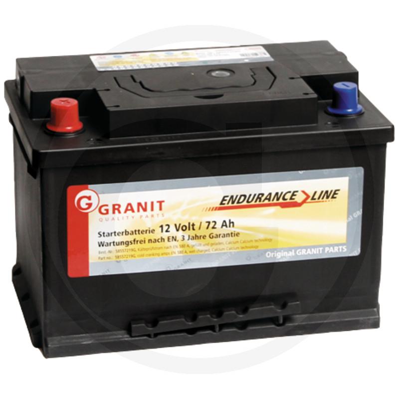 Baterie 12V 72Ah plná
