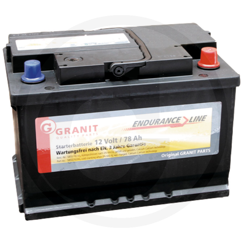 Baterie 12V 78Ah plná