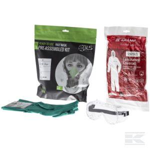 AGRIKIT1 Sada osobních ochranných prostředků - respirátor, oblek